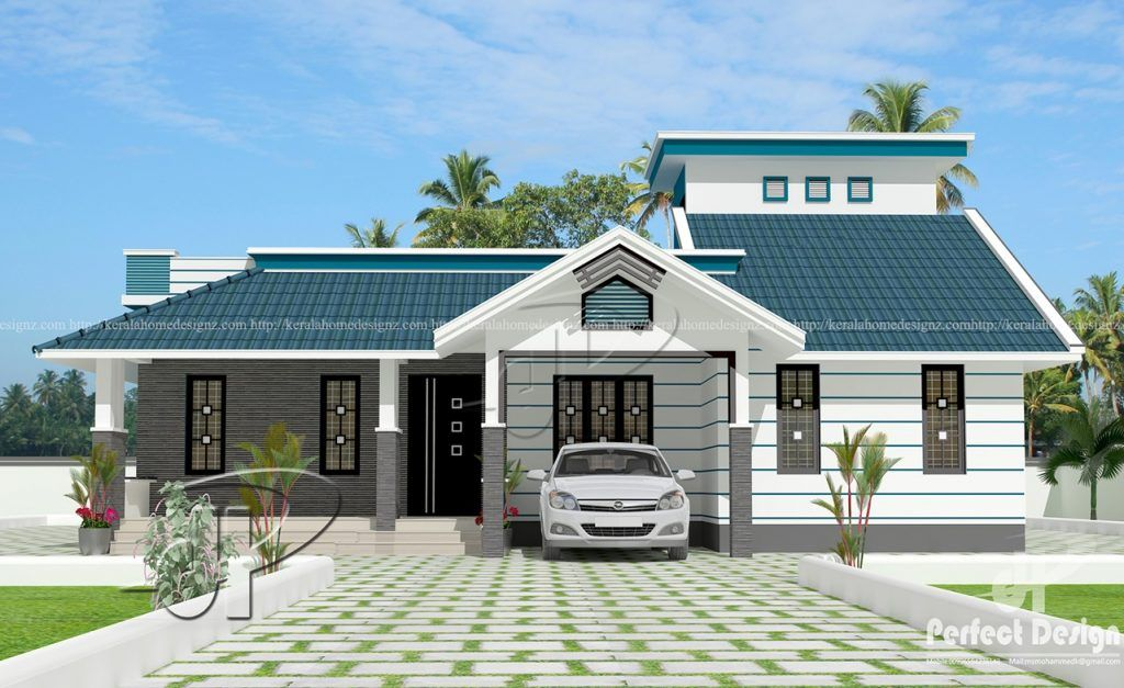 This Single Floor House Plan Is Designed To Be Built In 114 Square Meters Myhomemyzone Com Three Bedroom House Plan Modern House Plans House Design