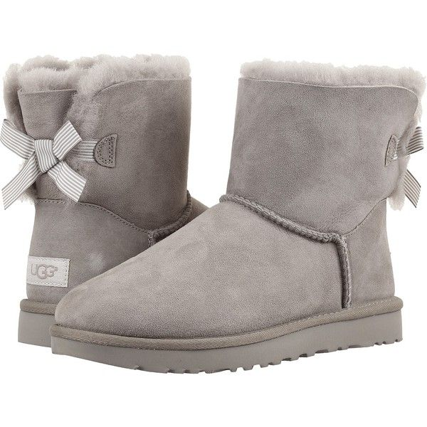 acb599d0083 UGG Mini Bailey Bow II Stripe (Seal) Womens Boots (4.250 UYU ...
