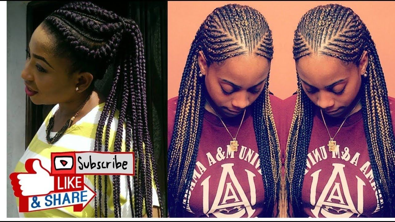 31 Best Protective Ghana Braids Hairstyles To Rock With Ghana Braids Cool Braid Hairstyles Braided Hairstyles