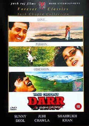 Darr 1993 Blu Ray Shahrukh Khan Hindi Film Bollywood Movie Indian Cinema Blu Ray Fl Old Bollywood Movies Bollywood Movies Bollywood Movies Online