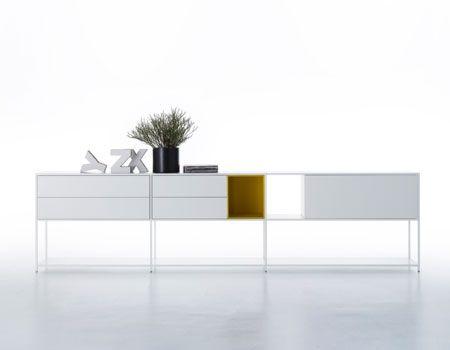 Minima 3.0 Shelving by Bruno Fattorini and Partners for MDF Italia