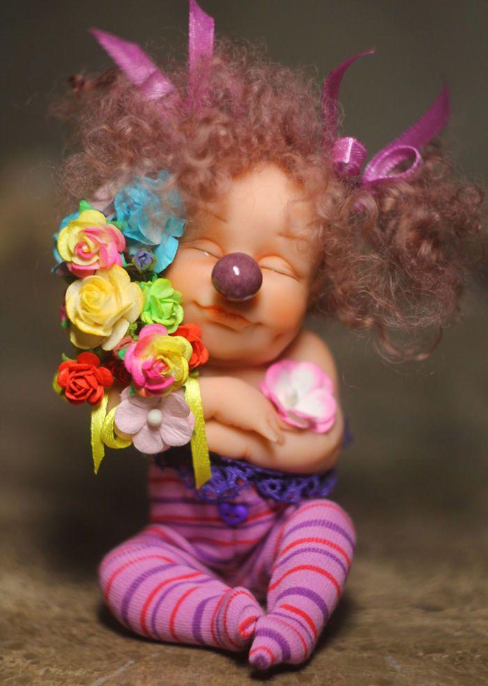 Смешные картинки куклы, поздравление лет свадьбы