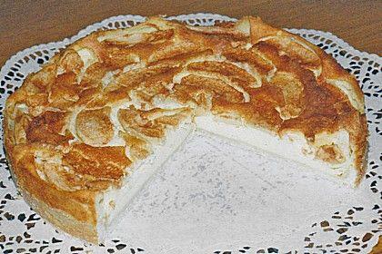Apfel Quark Kuchen Mit Zucker Und Zimt Desserts Baking To