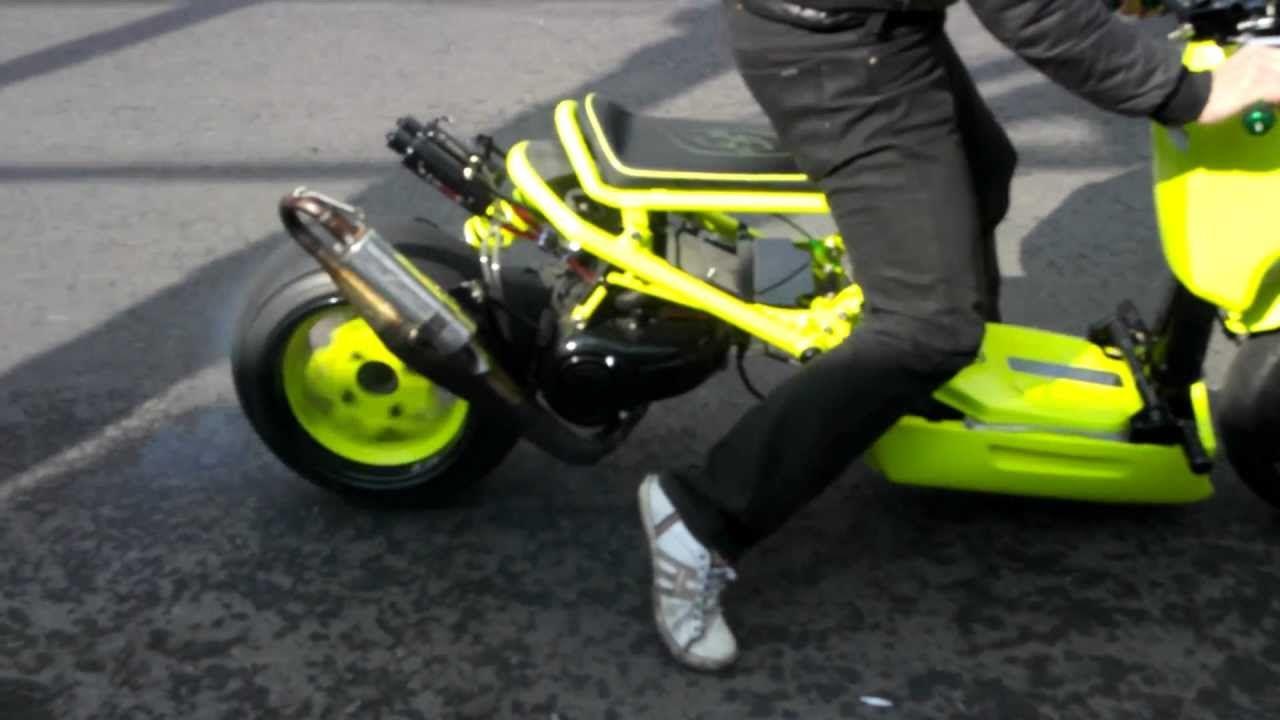 BWS swap ZOOMER cool wheel spin  Test RUCKUS kr ver
