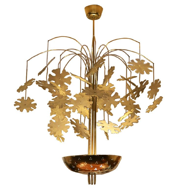 """Current Obsession Lantern Chandeliers: Paavo Tynell """"Snowflake"""" Chandelier"""