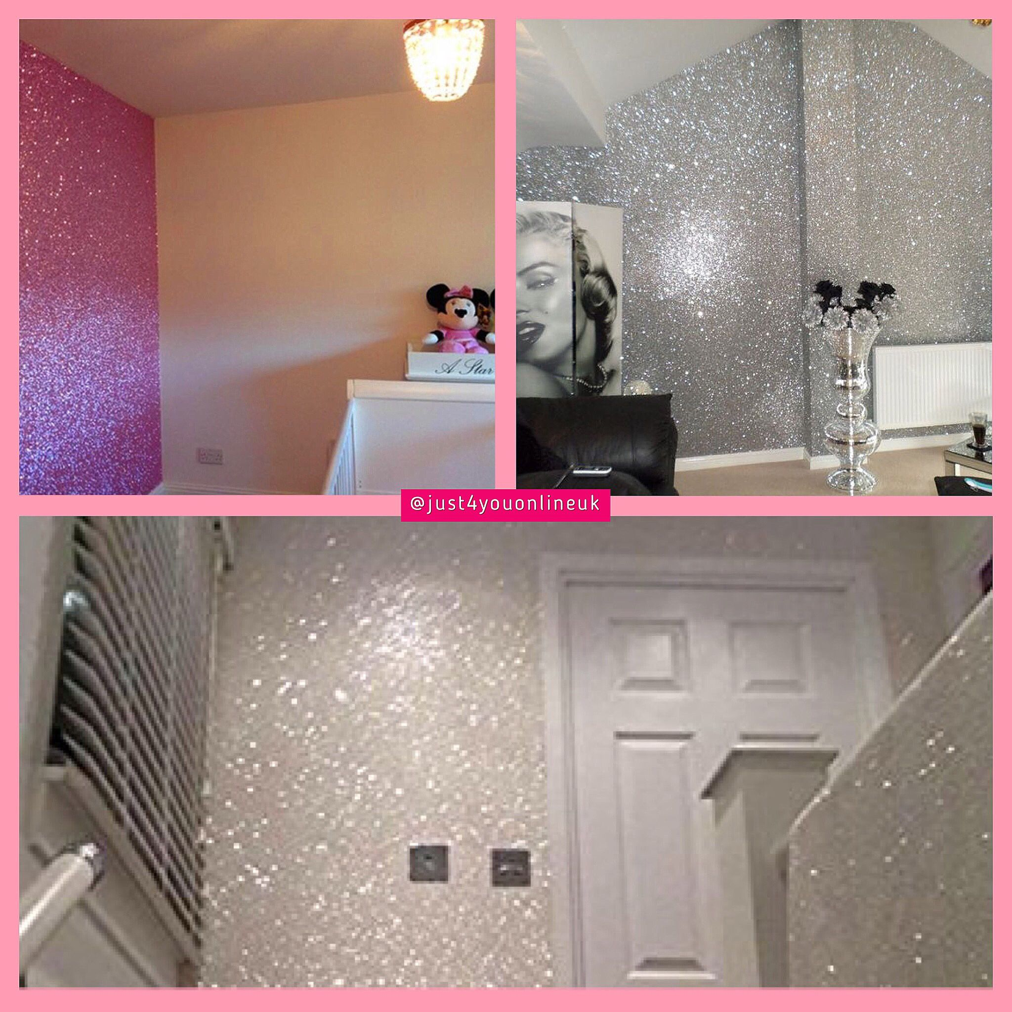 We are launching our brand new Glitter Wallpaper tomorrow night 05