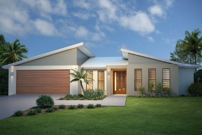 GJ Gardner Home Designs: Wide Bay 197 Facade Option 2. Visit  Www.localbuilders