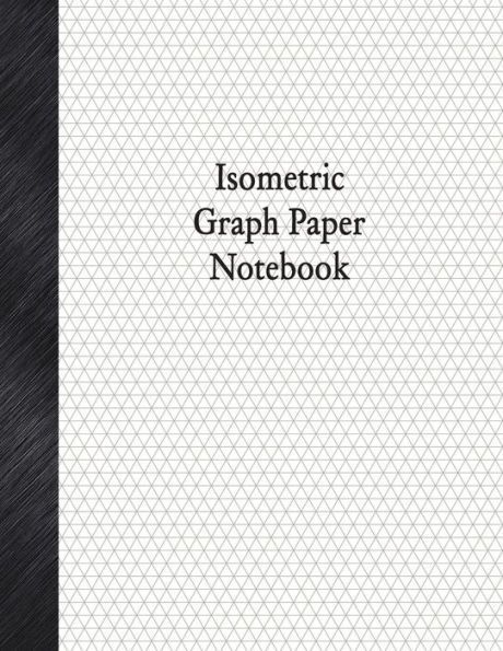 Isometric Graph Paper Notebook  Isometric Rule  Pages