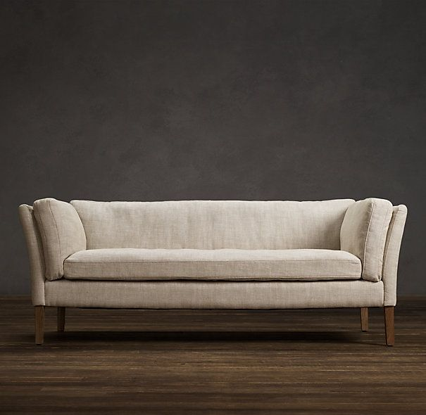 6u0027 Sorensen Upholstered Sofa | Sofas | Restoration Hardware   For The Foot  Of The
