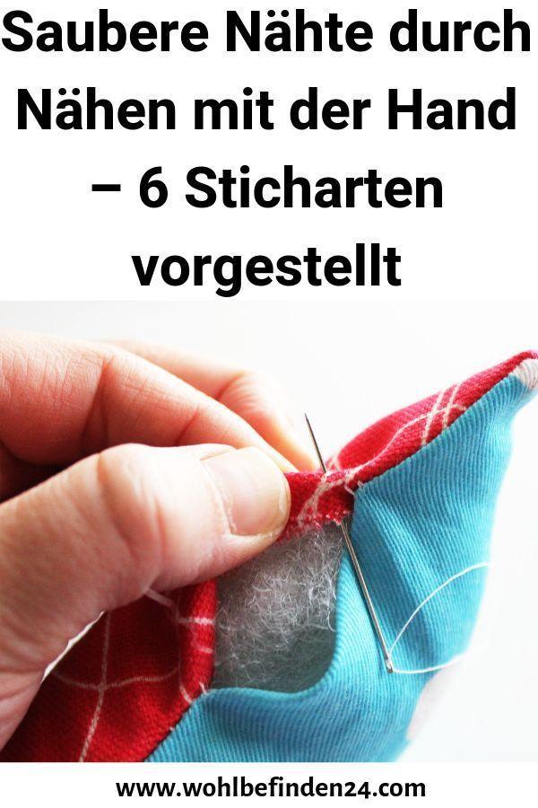 Photo of Saubere Nähte durch Nähen mit der Hand  6 Sticharten vorgestellt #der #durch #…