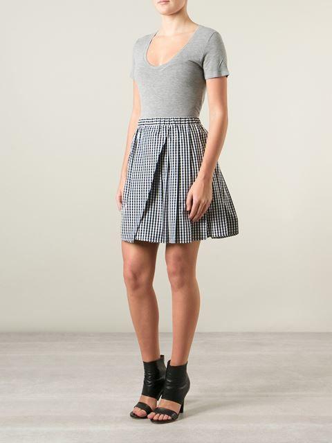 Nº21 Gingham Skirt - Laboratoria - Farfetch.com