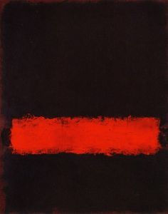 Barely breathing .. don't ask me why .... Mark Rothko