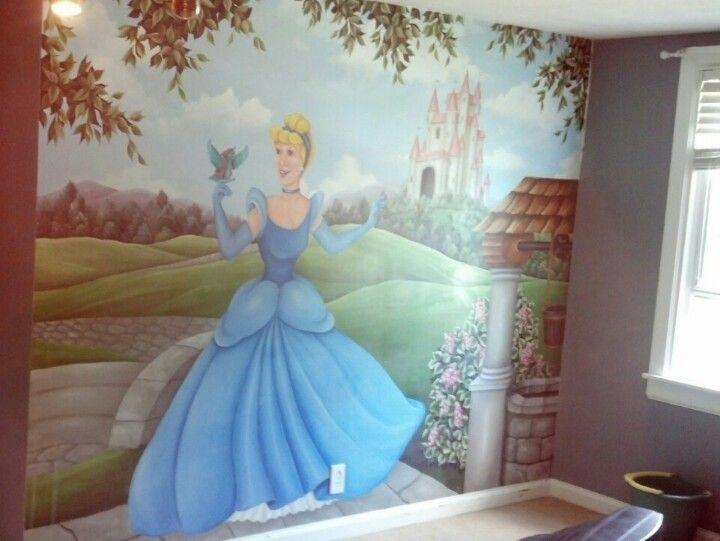 CINDERELLA/'S NIGHT Photo Wallpaper Wall Mural DISNEY KIDS Made in Germany!