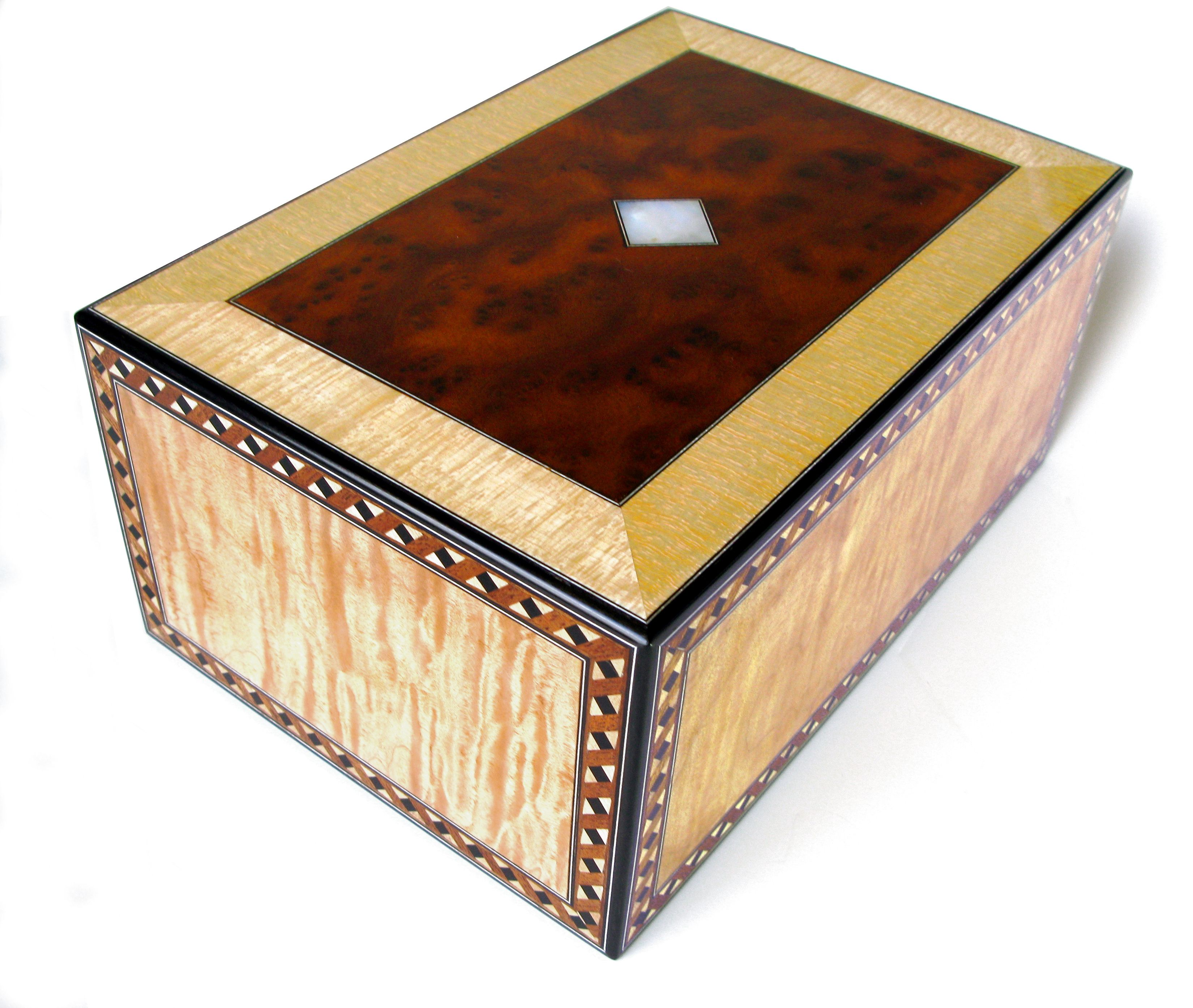 Burial urn. - Reader\'s Gallery - Fine Woodworking | Burial ...