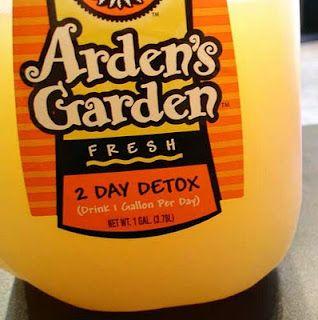 Ardens Garden Juice 2 Day Detox Arden Garden Detox