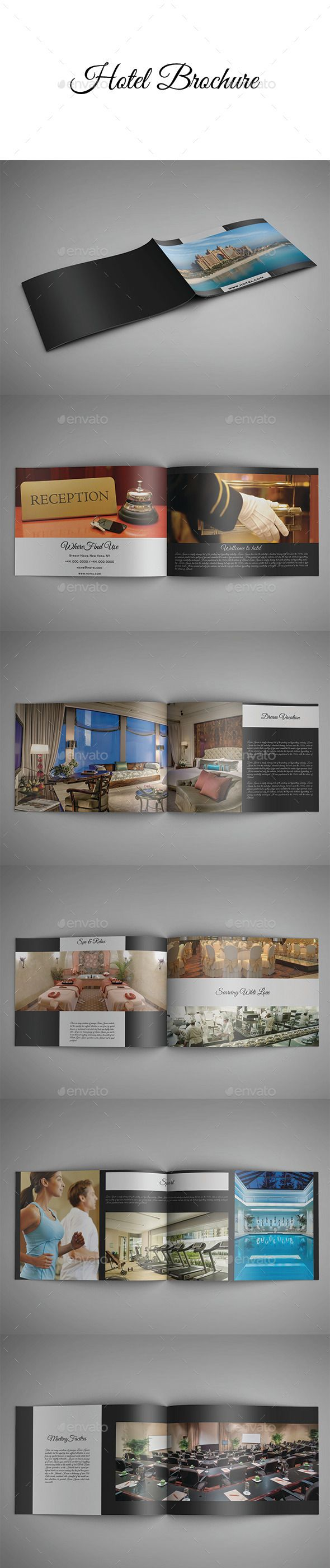 Hotel Brochure | Hotel brochure, Brochures and Brochure template