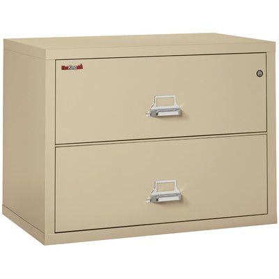 Fireking Fireproof 2 Drawer Lateral File Cabinet Filing Cabinet Global Office Furniture Lateral File