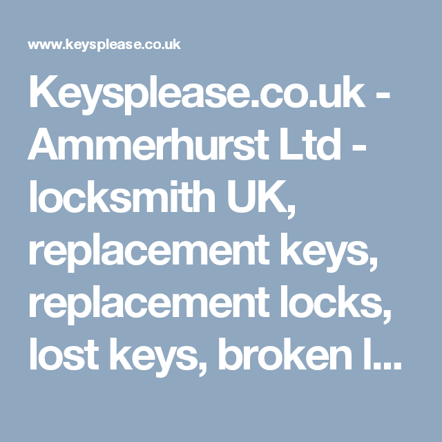 lost locker key