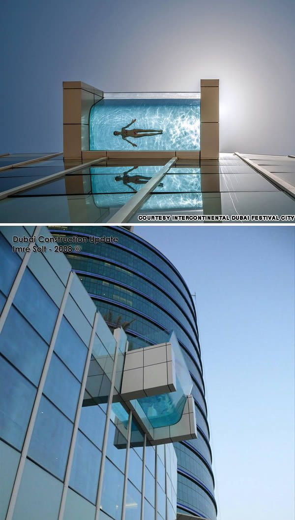 10 most awesome suspended pools in 2019 pool swimming for Pool design dubai