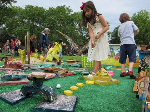 FIGMENT NYC 2011 | Mini-golf course Governors Island