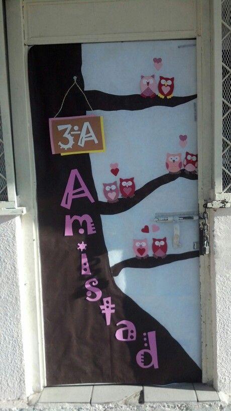 Puerta de san valentin educaci n classroom door for Puertas decoradas para 14 de febrero