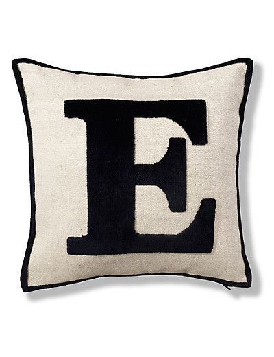 Letter E Cushion Home M And S