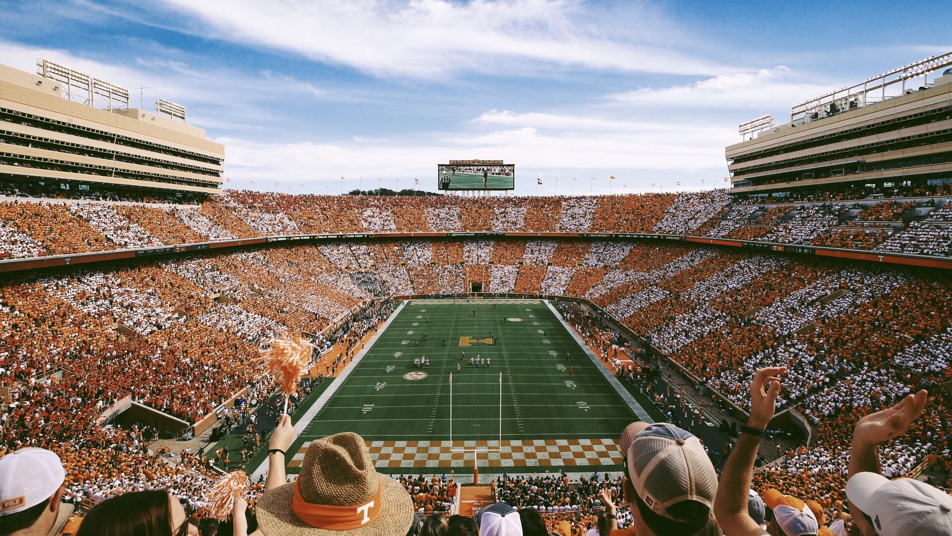 The Ultimate Tennessee Game Day Experience Neyland Stadium Stadium Rocky Top