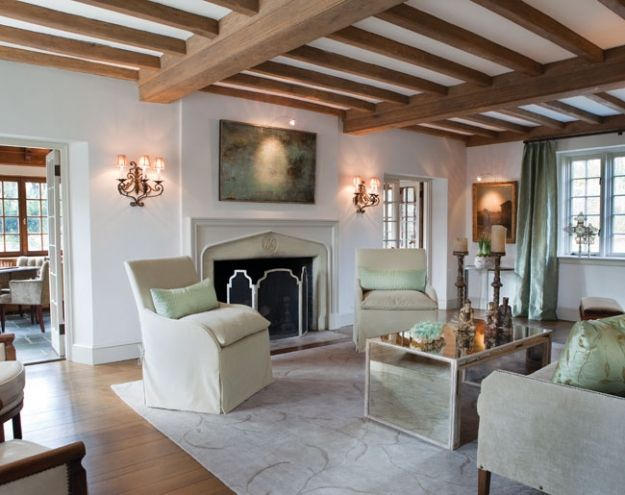 Home Tour An Exquisite Old World Manor Tutor Style Homes Cottage Interiors Tudor Style Homes