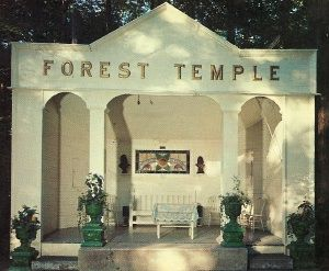 Forest Temple in Lily Dale