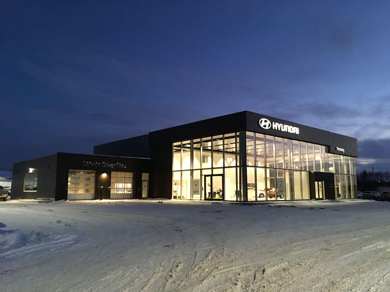 Butler Buildings (Canada) Penney Hyundai Gran Falls
