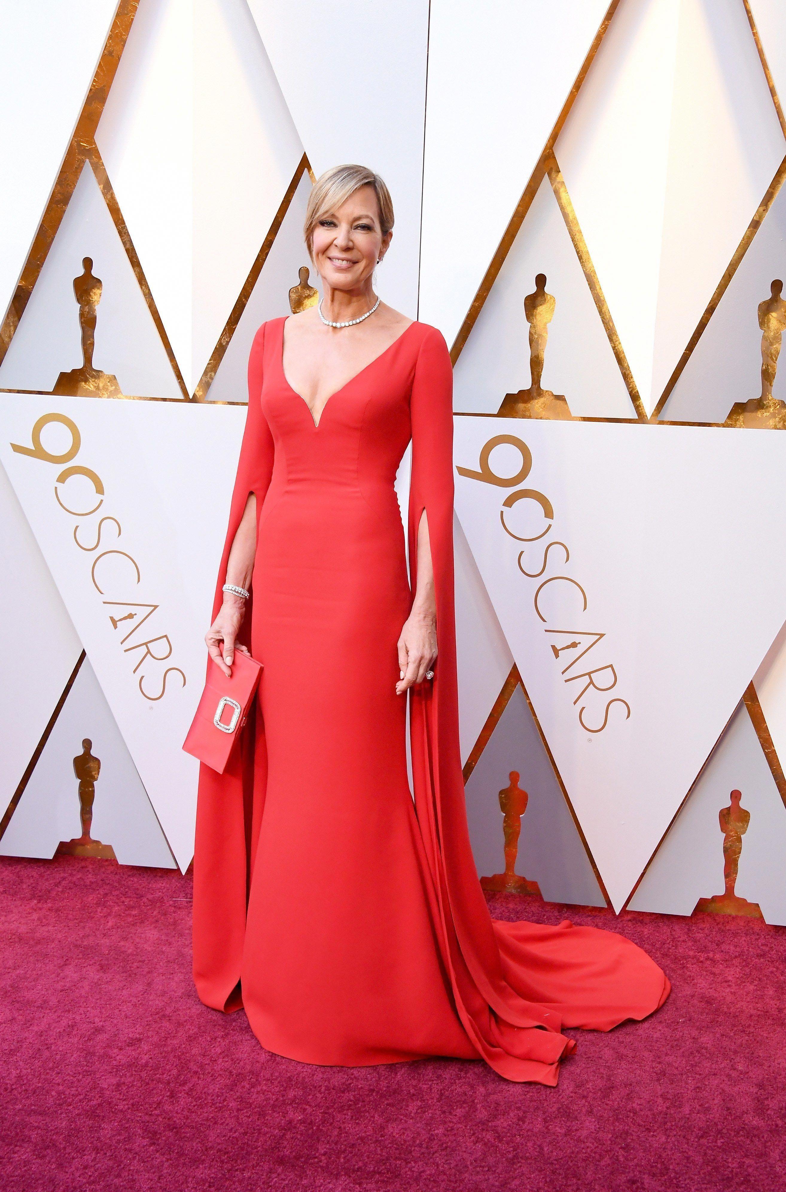 2018 Oscars - Allison Janney in Reem Acra 796d160e8