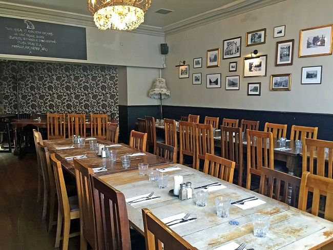 the old dairy pub, private dining room | Love London Restaurants ...