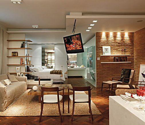 Tijolo Aparente Charmoso E Rustico Com Imagens Home Deco