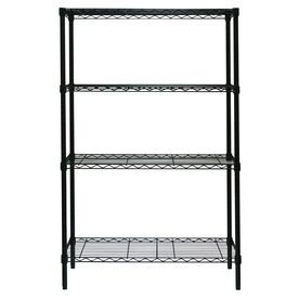 Style Selections 54 In H X 36 In W X 14 In D 4 Tier Steel
