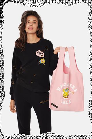 cd6103f072e54 Warszawska Lala X Spongebob Free Rose Tote Bag   SpongeBob ...