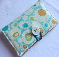 For Elizabeth...lots of sewing projects on this website with patterns and tutorials.  Business Card Holder - Make for mom with ladybugs :)