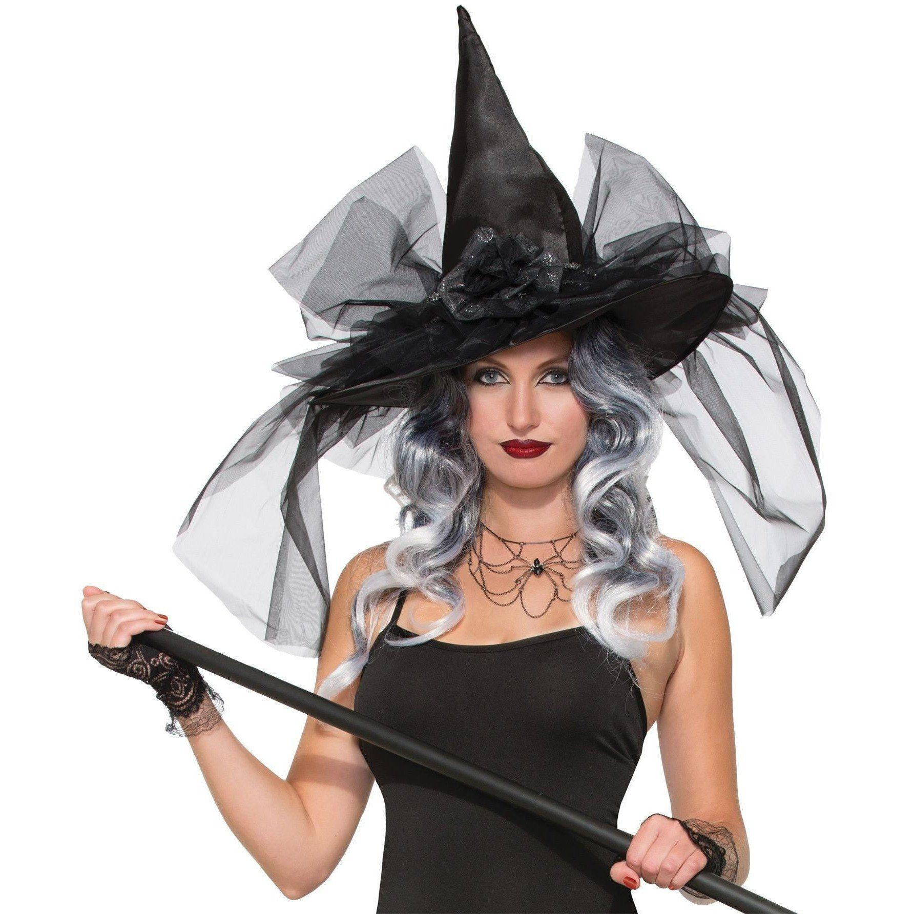 Witch Hat Fancy Deluxe Halloween costume accessories