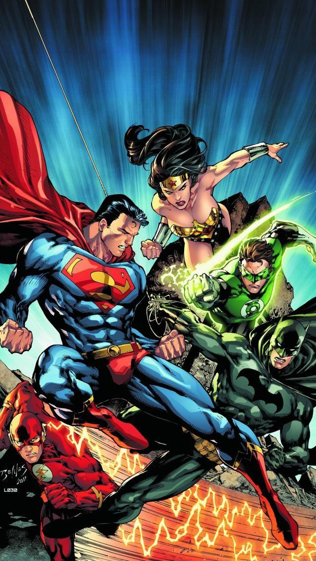 Dc Comics Iphone Wallpaper