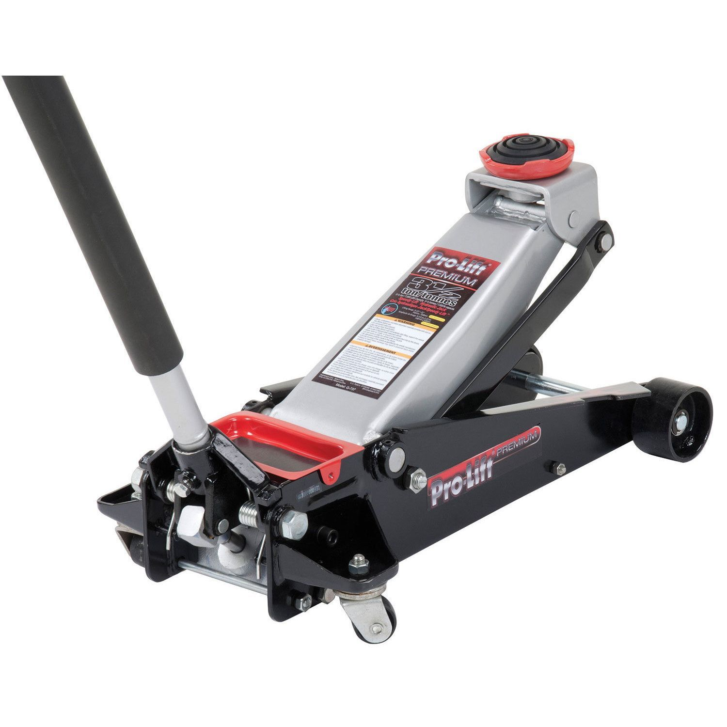 Height Pro Lift G 737 Black Silver Red 3 5 Ton Professional Grade Speedy Lift Garage Jack Lifted Cars Lifted Trucks Jack G