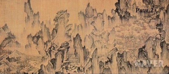몽유도원도_안견 1447  안평대군의 꿈을 듣고 3일만에 완성한 그림이다 꿈은 동경의 다른 말이기도 한데 이 그림에는 안평대군이 가진 이상사회에 대한 동경을 잘 나타냈다