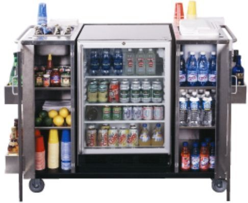 Office Cart Fridge Stainless Steel Cart With Outdoor Spr7 Os Glass
