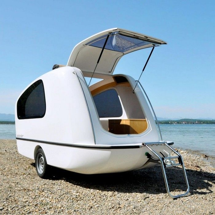 Sealander Amphibious Camping Trailer: Sealander – It's A Camper, It's A Boat, It's Both!