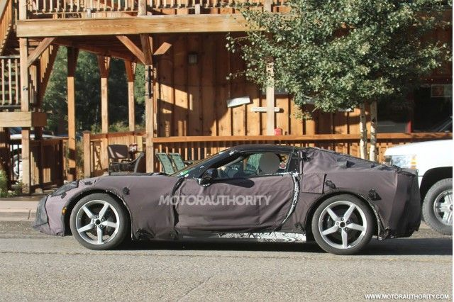 2014 Chevrolet Corvette C7 Spy Shots Chevrolet Corvette 2014