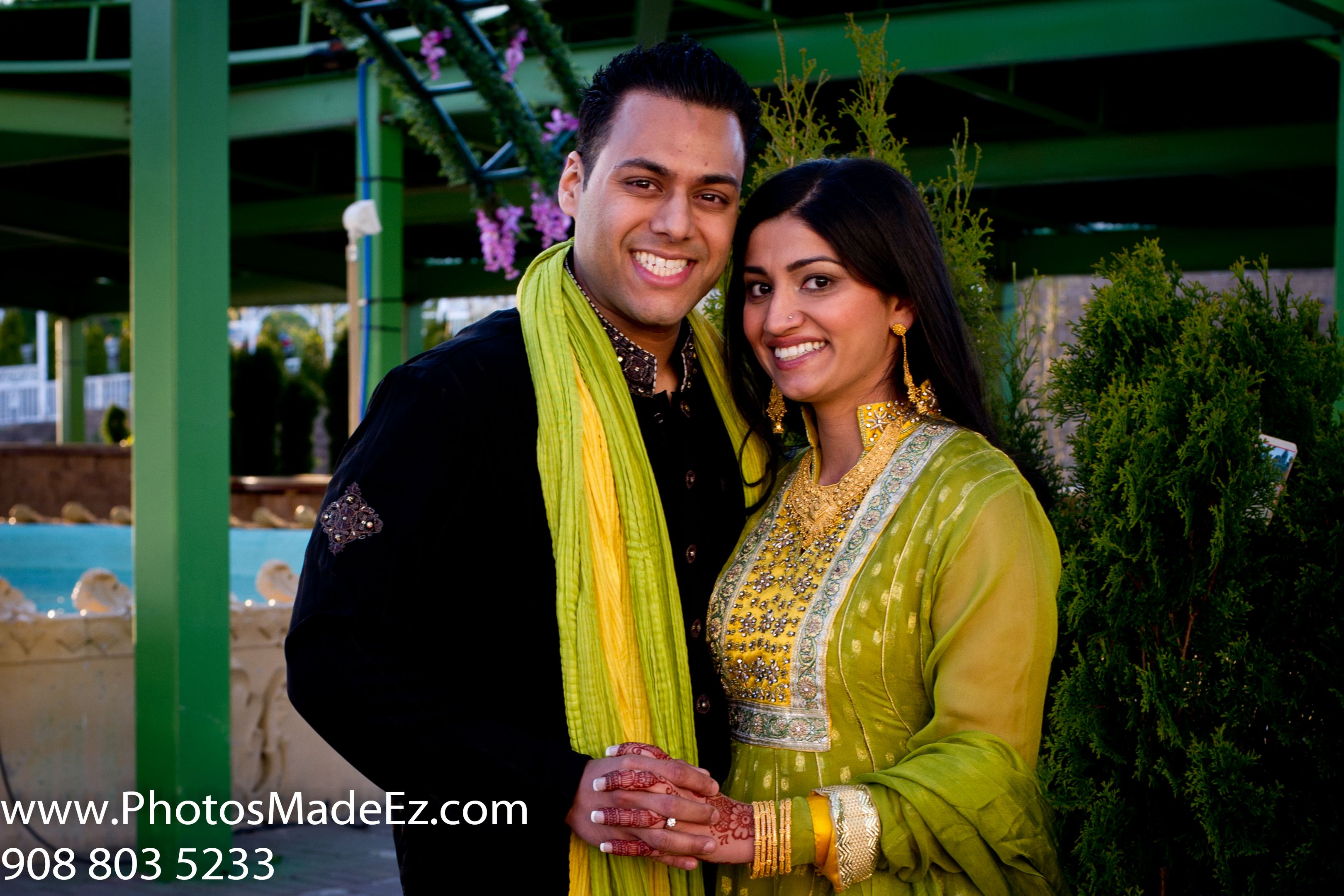 Mixed Wedding in New Jersey Indian Groom and Pakistani
