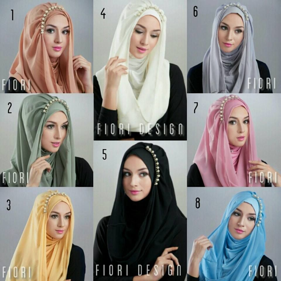 Hijab Syari Modis Hoodie Deeja Pearly Things To Wear Pinterest