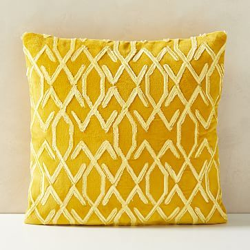 Cut Embroidery Velvet Pillow Cover