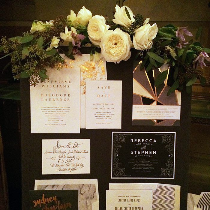 Bella figura designs on display at the 2016 martha stewart wedding bella figura designs on display at the 2016 martha stewart wedding party stopboris Image collections