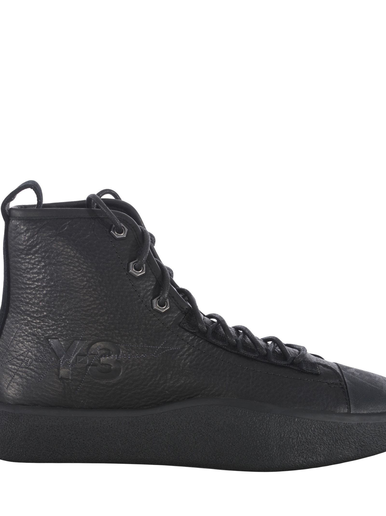 7c4310fbe Y-3 BASHYO II SNEAKERS.  y-3  shoes Leather High Tops