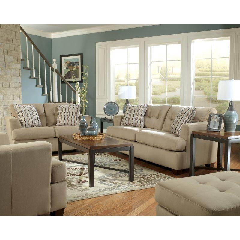 Best Living Room Ashley Furniture Dallas Khaki Living Room 400 x 300