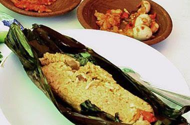 Resep Masakan Nenek Pepes Tahu Udang Rebon Blog Makanan Makanan Resep Masakan